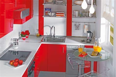 cocina mini leroy rojo blanco cocina pinterest