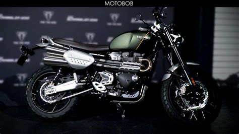 Triumph Scrambler 1200 Picture the new 2019 triumph 1200 scrambler launch event
