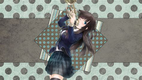 orchestra anime girls schoolgirls musical