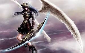 Anime Warrior Wallpaper ·①