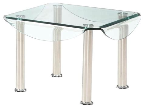 bent glass end table tempered and bent glass end table contemporary coffee