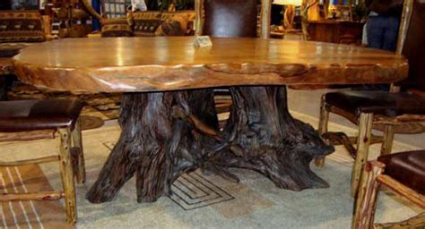 Perry's American Furniture Gallery   Live Edge Double