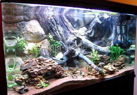 aquarium background 3d for 30g tank size 36x16 easy to install