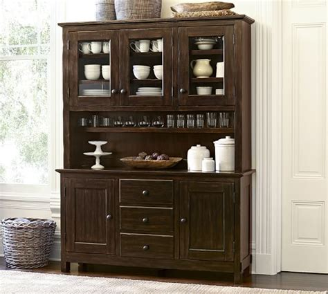 buffet ls pottery barn benchwright buffet hutch pottery barn