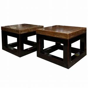 square stone top coffee table at 1stdibs With square stone top coffee table