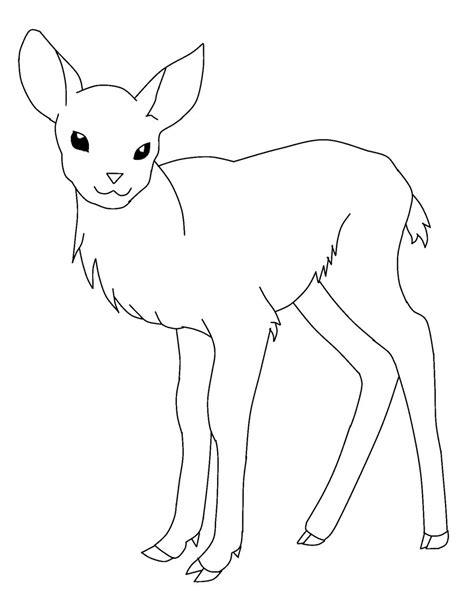 deer printable coloring pages