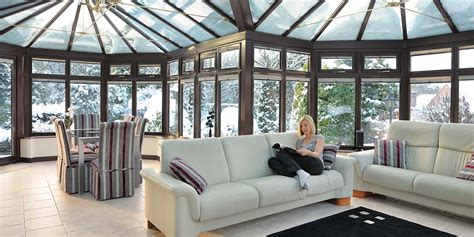 heat  conservatory effectively  winter