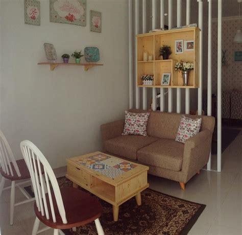 dekorasi vintage ruang tamu
