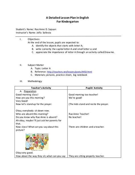 detailed lesson plan in for kindergarten 925 | lpforkindergarten 150719011626 lva1 app6891 thumbnail 4