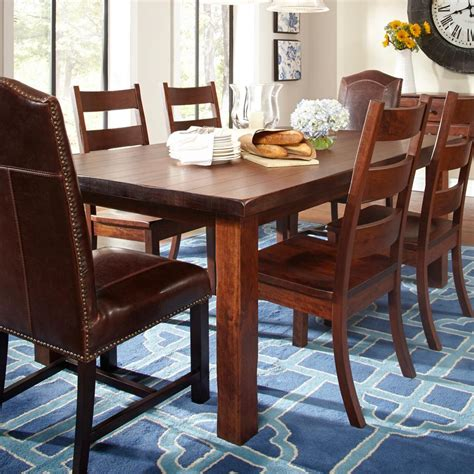 daniels amish westchester solid wood dining table