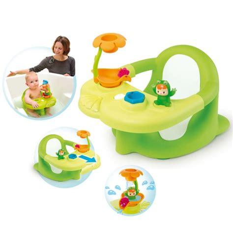 siege bain cotoons siège de bain cotoons vert jeux et jouets smoby