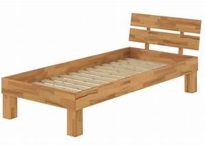 Bett Holz 90x200 : futonbett buche massiv einzelbett 90x200 jugendbett g stebett bett mit rollrost ~ Markanthonyermac.com Haus und Dekorationen