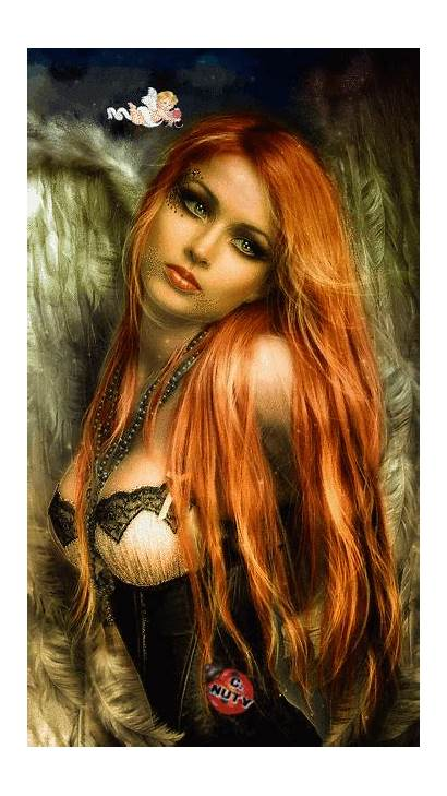 Fantasy Gifs Angels Belle Rousse Google Redhead