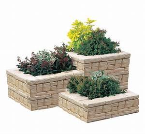 Jardiniere Pas Chere : jardiniere pierre ~ Melissatoandfro.com Idées de Décoration