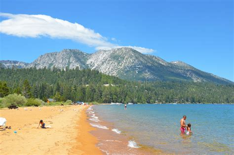 baldwin beach  ski beach lake tahoe guide