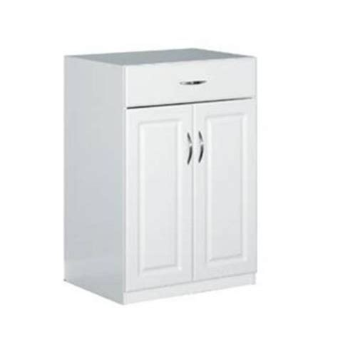 closetmaid storage cabinets home depot closetmaid 24 in freestanding raised panel base cabinet