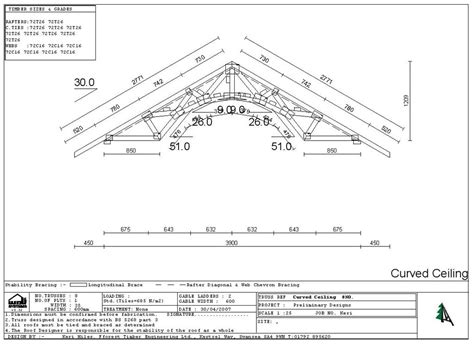 fforest timber engineering curved roof truss design swansea