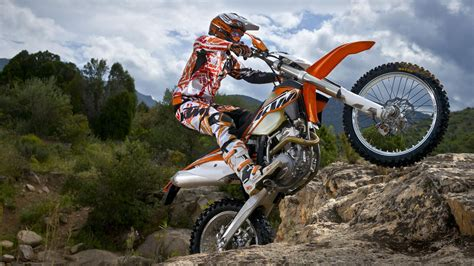 Ktm 500 Exc Freestyle Hd Wallpaper