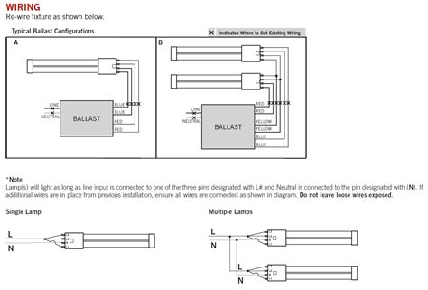 Ho 4 Bulb Ballast Wiring Diagram by Led T8 Bulbs Retrofit