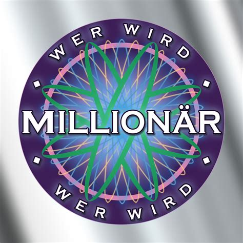 wer wird millionaer logo ohne vorhandene schrift design