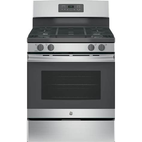 Ge 30 In 50 Cu Ft Freestanding Gas Range In Stainless