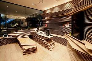 Modern, Interior, That, Looks, Like, Stacked, Papers, U2013, Shun
