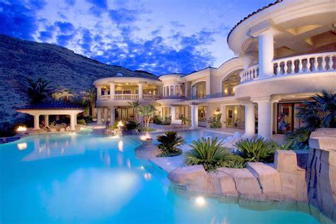 Home Luxury Lifestyle : Luxury Resort Evening Wallpaper 00937