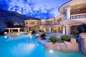 Luxury Resort Evening Wallpaper 00937