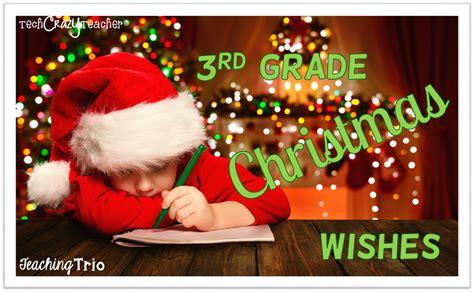 teaching trio 3rd grade christmas wishes