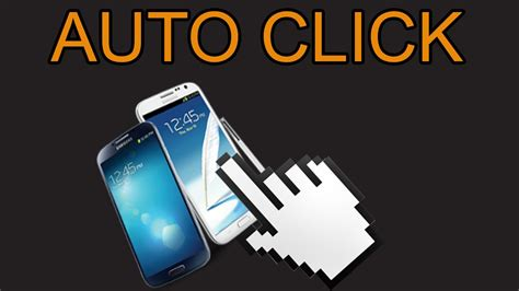 how to auto click on mobile phone