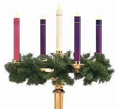 Happy 1 Advent : christmas craft advent wreaths happy home fairy ~ Haus.voiturepedia.club Haus und Dekorationen