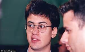 Ed Miliband at Oxford University in gown and white tie as ...