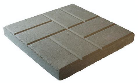 menards plastic patio blocks 16 quot brickface patio block at menards 174