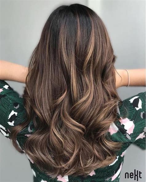 maintenance balayage hair colour ideas perfect