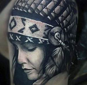 Image Gallery native american women tattoo