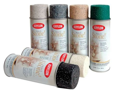 Krylon Stone Textured Spray Paint