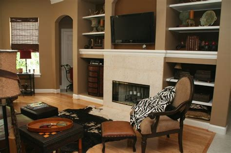 which paint color goes with brown furniture paint color