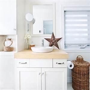Petite salle de bain blanche salle de bain for Petite salle de bain blanche
