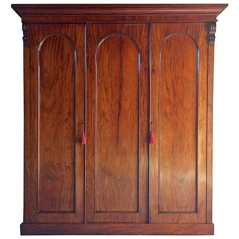 Large Wardrobes For Sale by Antique Wardrobe Compactum Armoire Mahogany