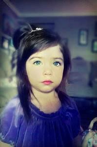 beautiful green eyes,blue eyes, flawless, dark hair ...