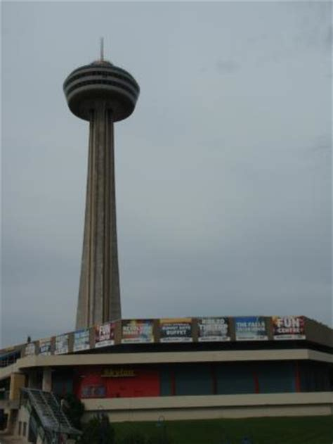 skylon tower revolving dining room tripadvisor view across to falls picture of skylon tower revolving