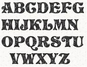 best 25 cool fonts alphabet ideas on pinterest cool With font templates to print
