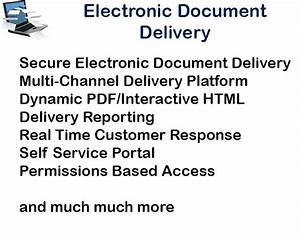 Acs advanced cloud solutions for Electronic document delivery service