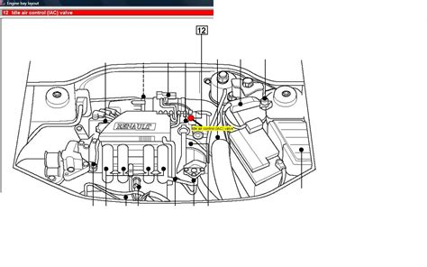 renault clio engine diagram diagram chart gallery
