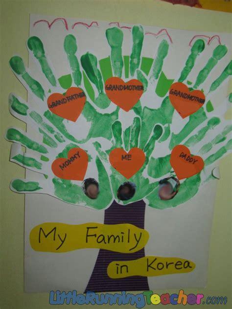 family tree  preschool  running teacher family