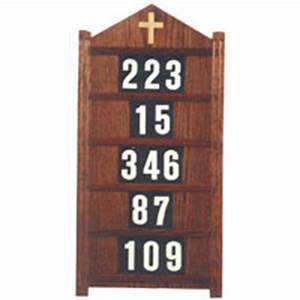 vermont church supply furniture hymn board With hymn board numbers and letters