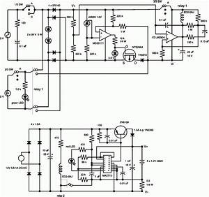 Battery Charger Circuit 12v To 1 2v
