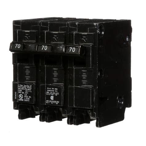 Siemens Amp Pole Type Circuit Breaker The