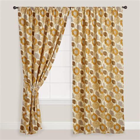 world market curtains floral cotton curtain world market