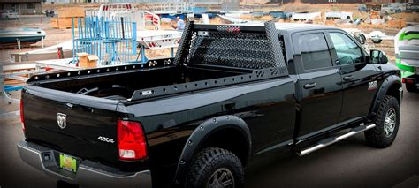 truck back rack aluminum truck headache racks highway products inc